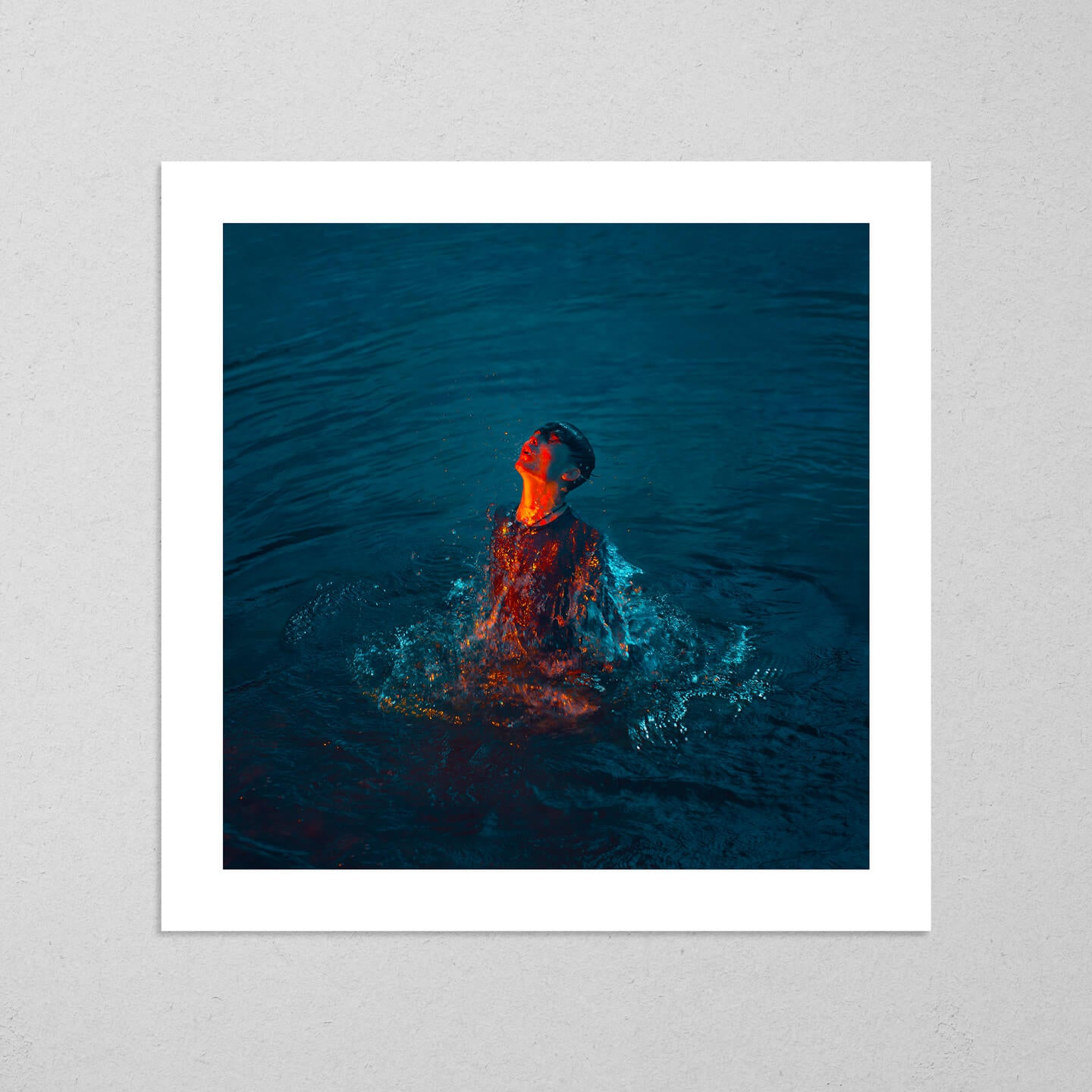 Seven Seas, moody and cinematic photography fine art giclée print on Hahnemühle Pearl paper by Adrian Wojtas