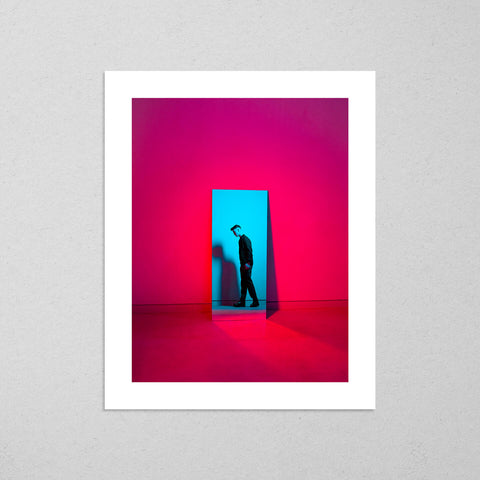 Full Recovery, colourful and cinematic photography fine art giclée print on Hahnemühle Pearl paper by Adrian Wojtas