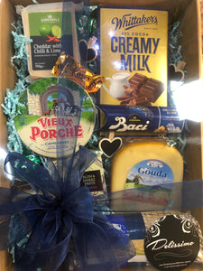 CHOC CHEESE HAMPER