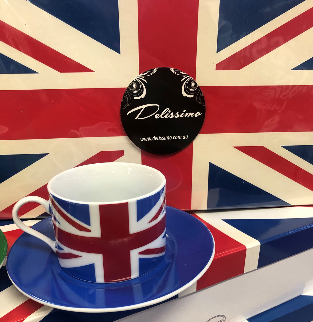 UNITED KINGDOM TEA SET 6pce