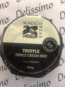 MAGGIE BEER TRUFFLE TRIPLE CREAM BRIE 200g