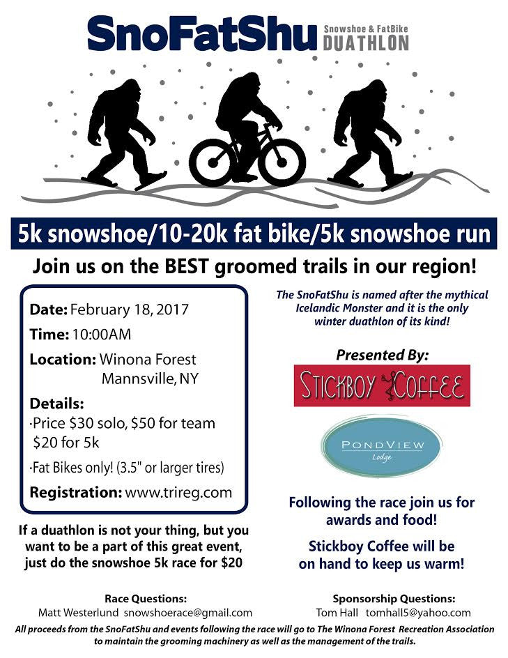 The Only Winter Duathlon of its Kind