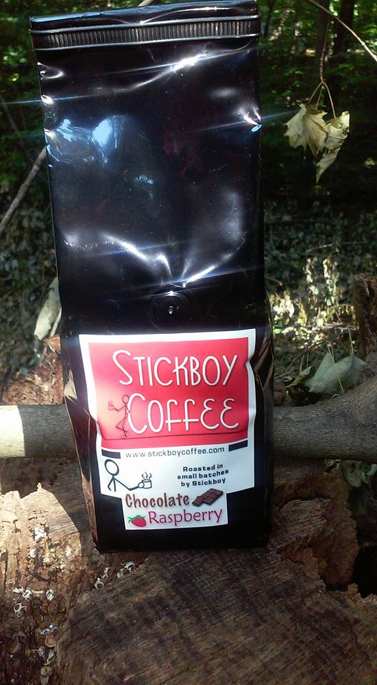Wake Up and Smell Stickboy Coffee
