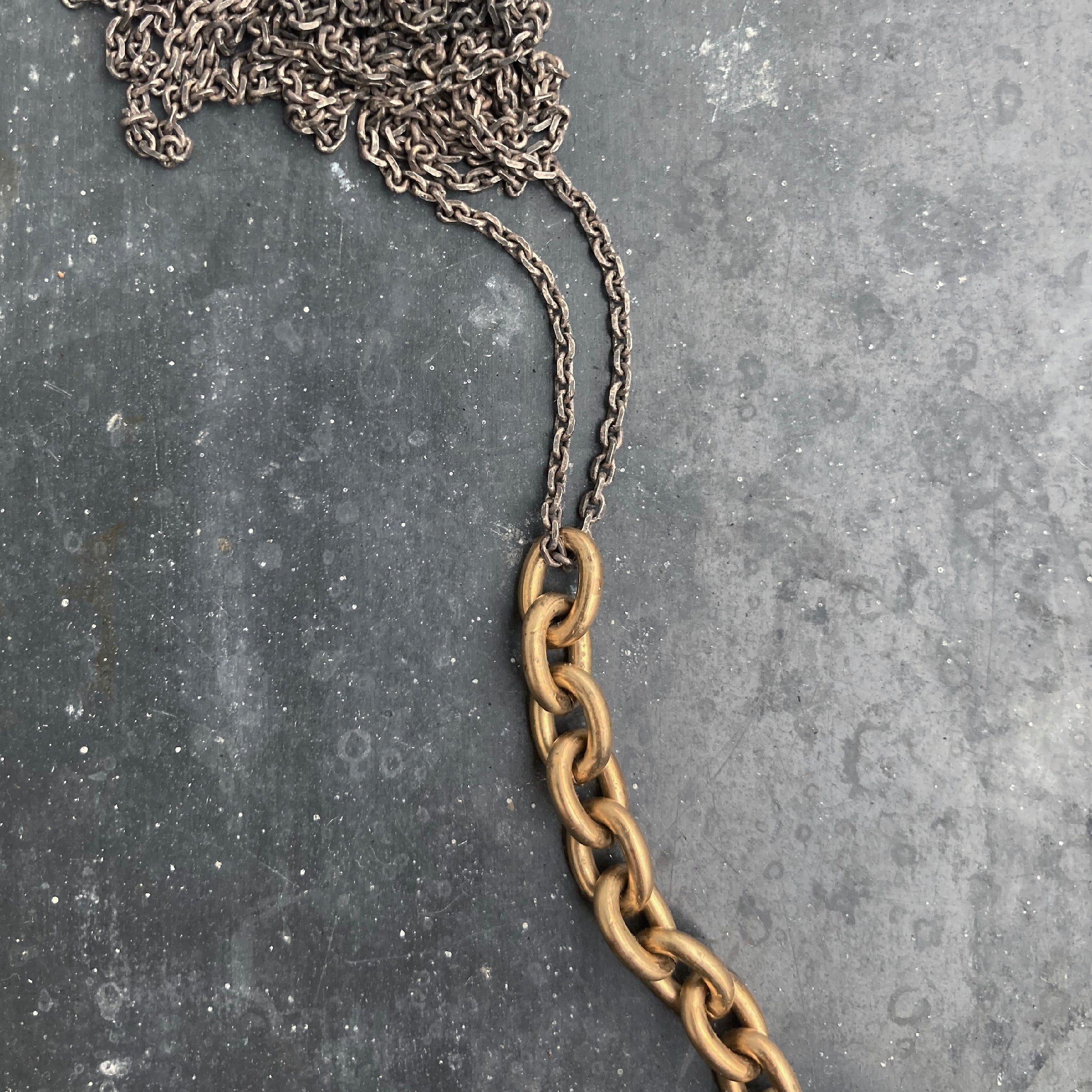 CHAIN necklace - regular Gold