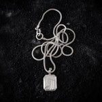 GEM II necklace Silver