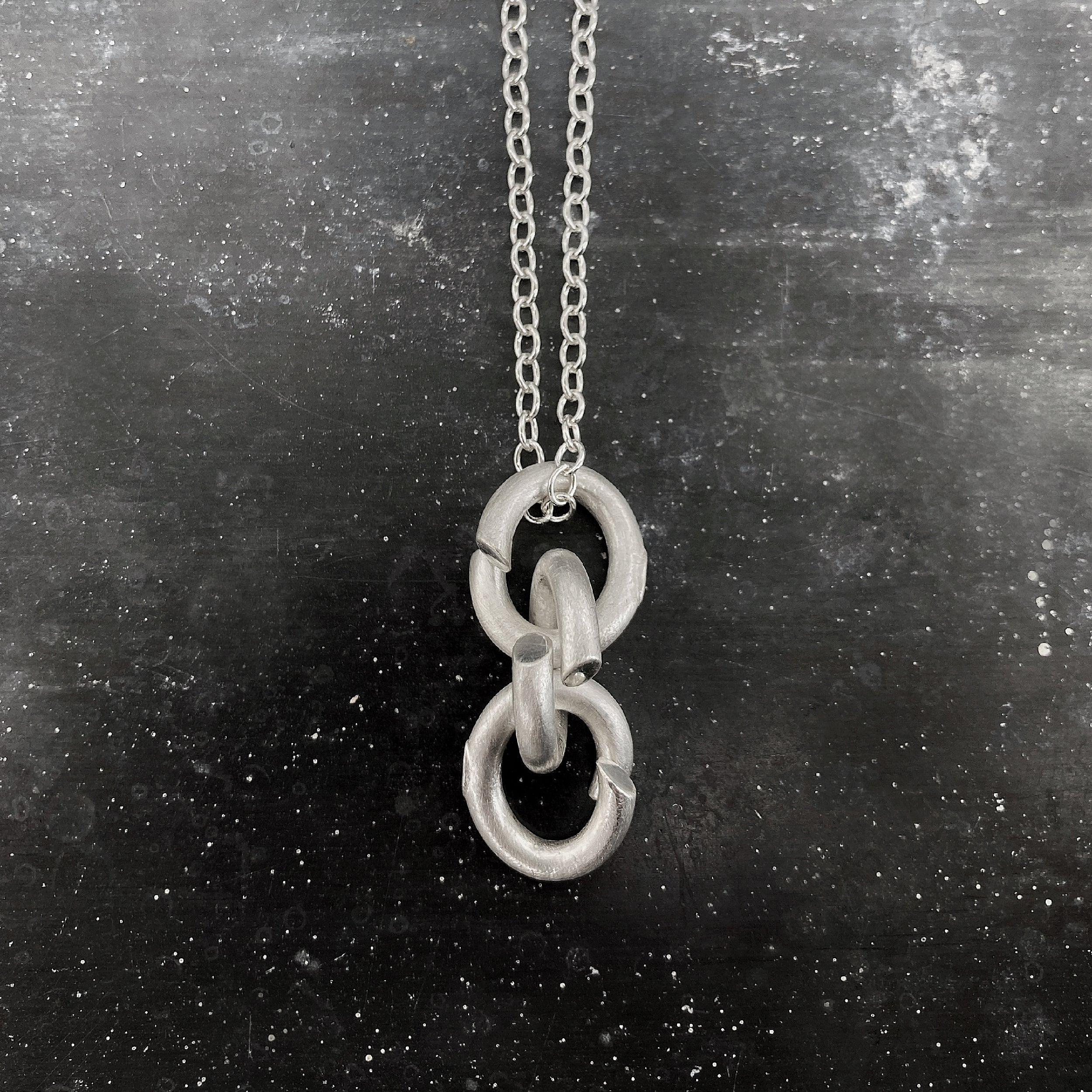 3.B1 necklace - Silver