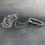 B0 necklace - silver