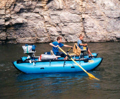 Taylor Scott Rowing Smith River at Age 13 - Missoulian Angler