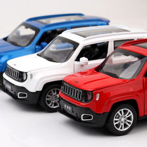 MINIATURA JEEP RENEGADE - ESCALA 1/32