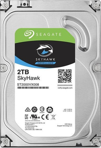 Seagate SkyHawk 2TB CCTV Optimized HDD