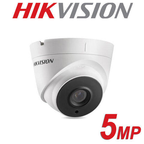 HIKVISION DS-2CE56H0T-IT3F - Hikvision 5MP fixed lens EXIR turret camera