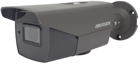 HIKVISION DS-2CE16H0T-IT3ZE/GREY 5MP motorized varifocal lens EXIR POC bullet camera