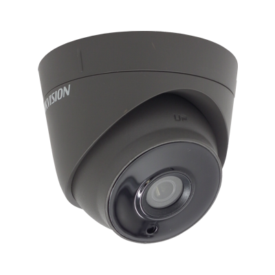 HIKVISION DS-2CE56H0T-IT3E/GREY 5MP fixed lens PoC EXIR turret camera
