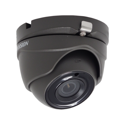 HIKVISION DS-2CE56H0T-ITME/GREY 5MP fixed lens PoC EXIR eyeball camera