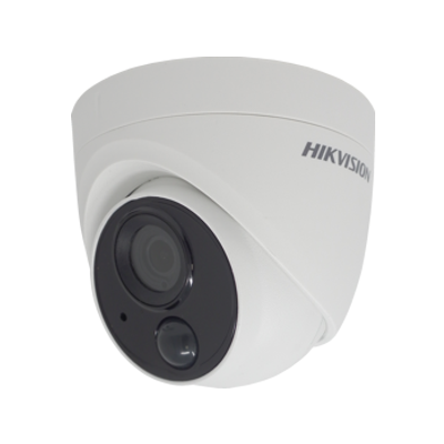 HIKVISION DS-2CE71H0T-PIRLO Hikvision 5MP fixed lens PIR turret camera