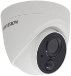 HIKVISION DS-2CE71D8T-PIRLO 2MP fixed lens ultra low-light PIR turret camera with 1 alarm out
