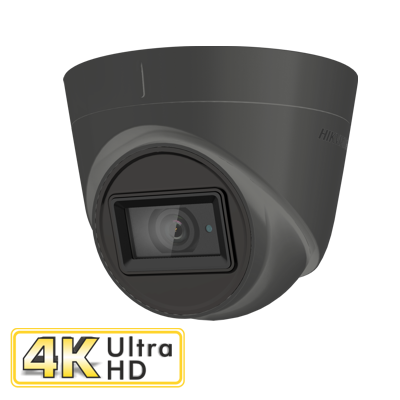 HIKVISION DS-2CE78U1T-IT3F GREY 8MP fixed lens turret camera