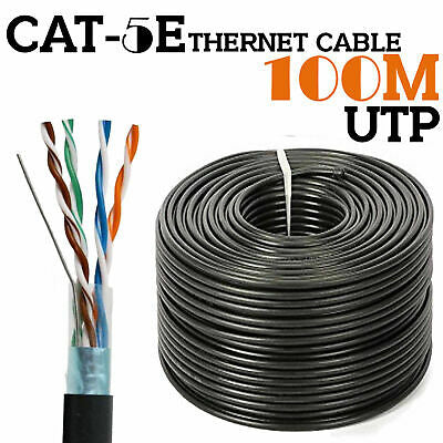 100 Meter CAT5E Pure Solid Copper External Grade CCTV cable