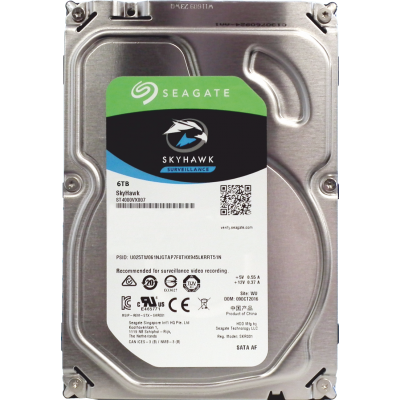 Seagate SkyHawk 6TB CCTV Optimized HDD