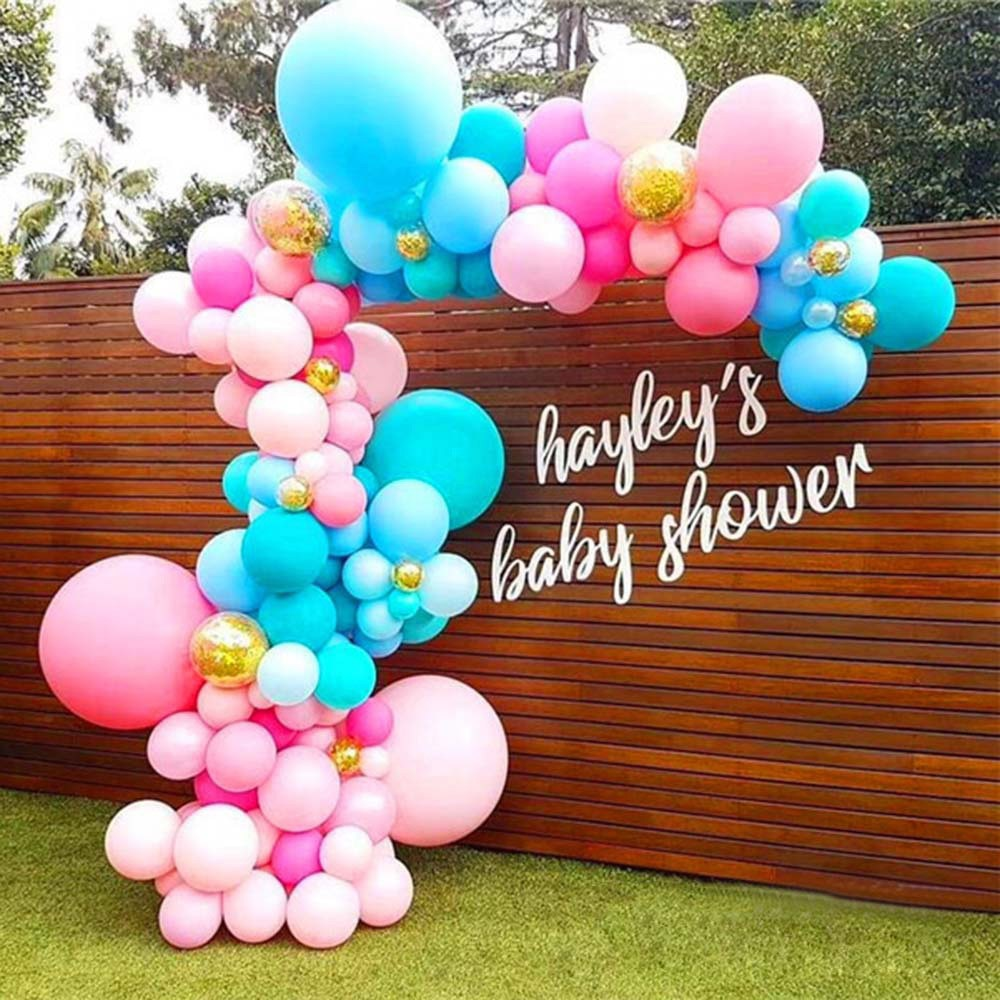 5m Balloon Chain Tape Arch Connect Strip for Wedding Birthday Party Decor ZB