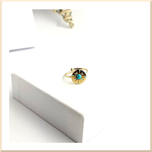 BAGUE SOLENA TURQUOISE