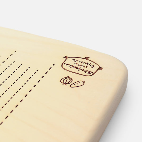 GINKGO KIDS CHOPPING BOARD