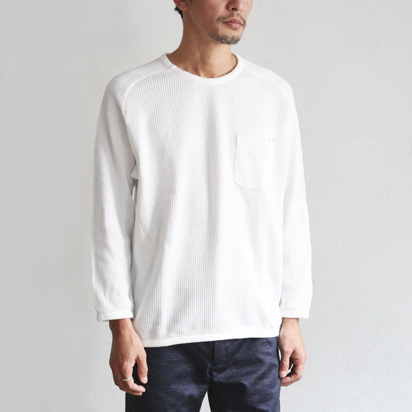 Light Waffle Pocket Pull Over