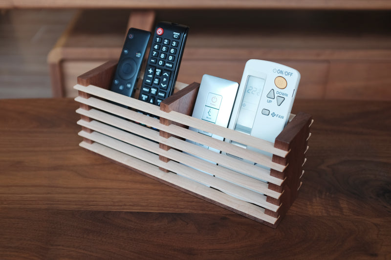 Remote Control Wooden Stand