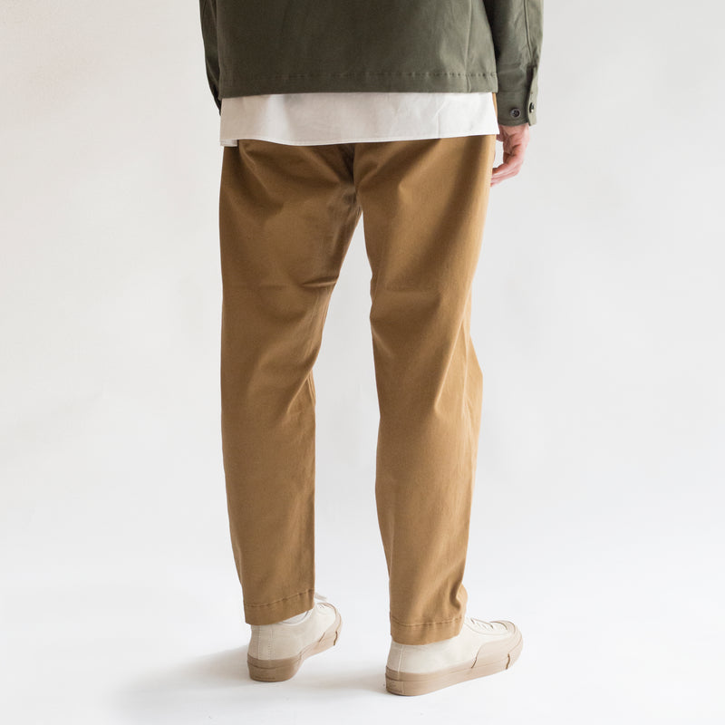 Brushed Stretch Twill Trousers