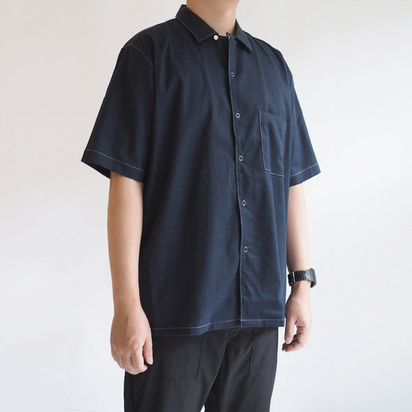 Canvas Open Collar Sht