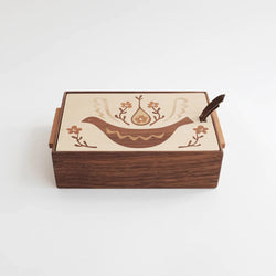 Wooden Inlay Box