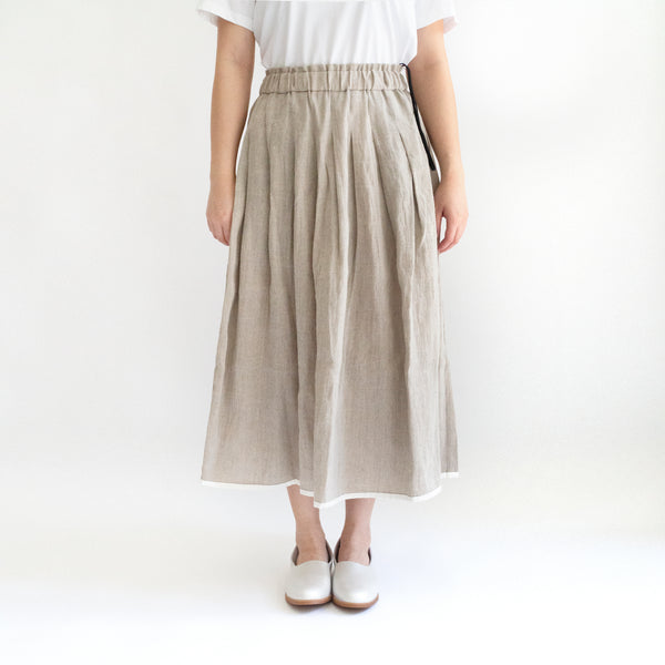 Light Pleat Skirt