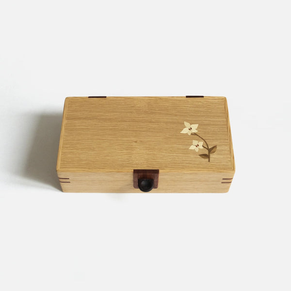 Wooden Inlay Jewelry Box
