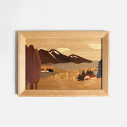 Hill Inlay Wall Art