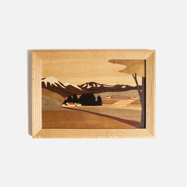 Landscape Inlay Wall Art