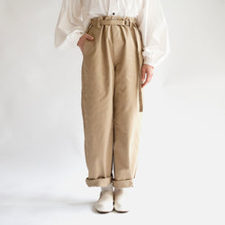 Straight Wide Pants