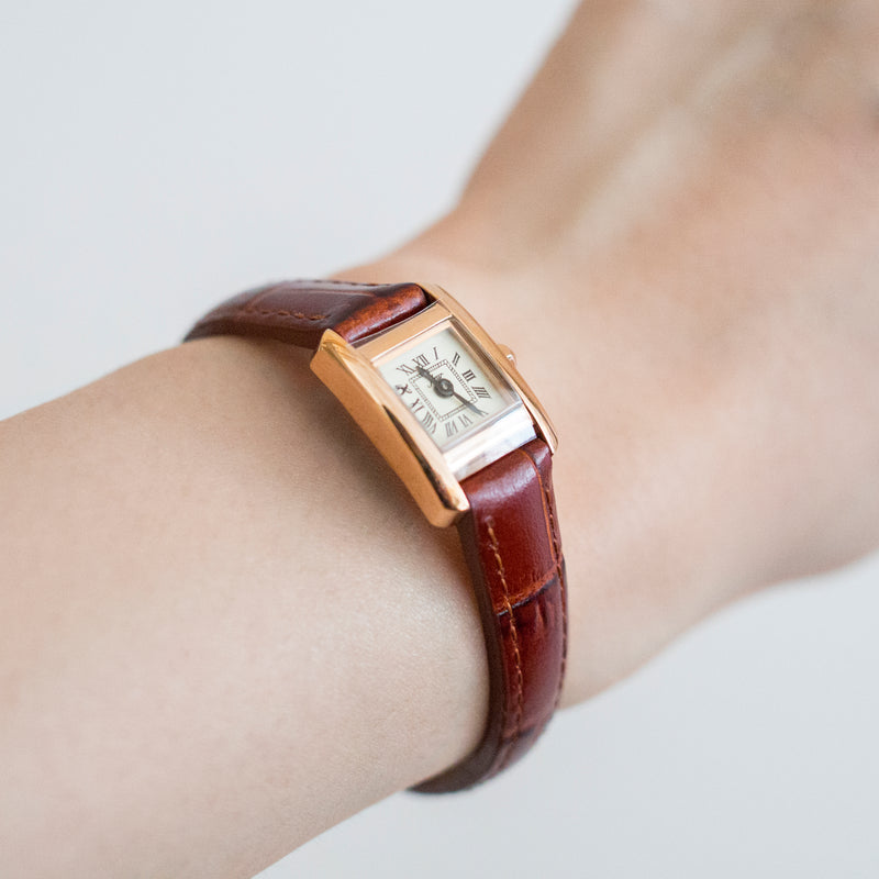 Stock Leather Watch
