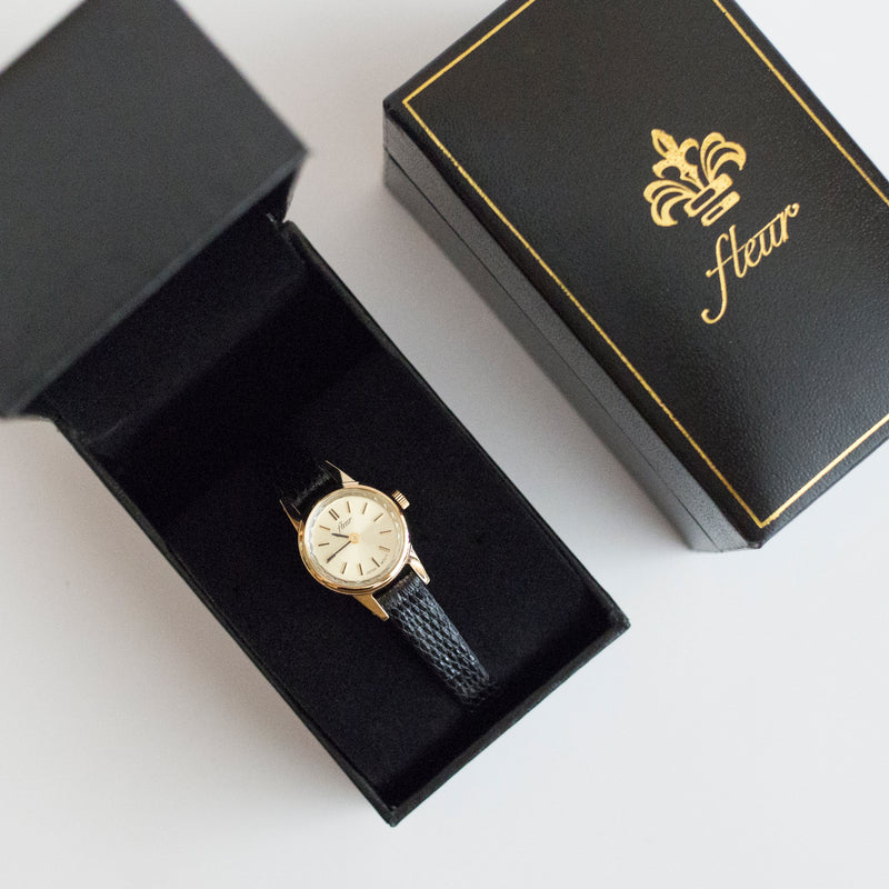 Hyacinth Leather Watch