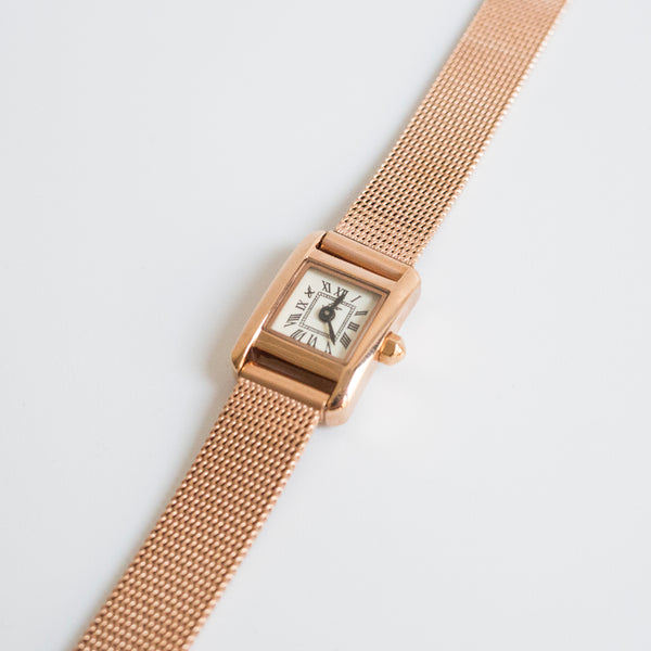 Stock Mesh Band Watch