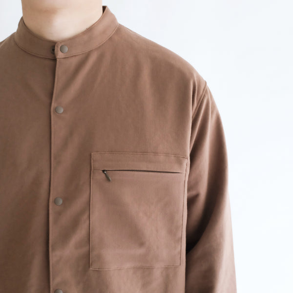 Twill Zip Pocket Shirt