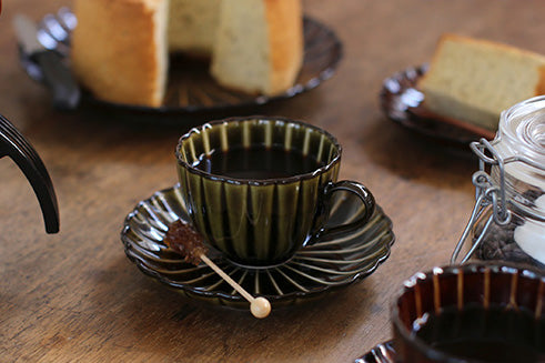 Pottery Tea Cup Set