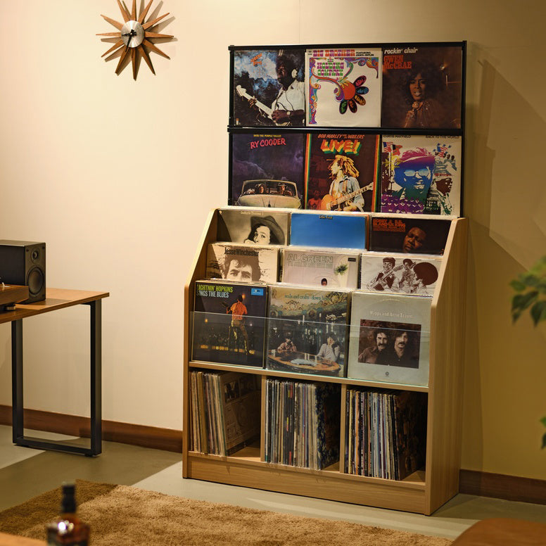 Record Display Rack