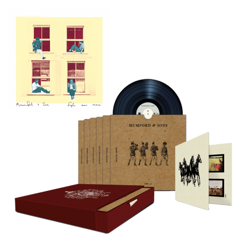 "SIGH NO MORE LIMITED EDITION 7"" BOXSET + NUMBERED LITHOGRAPH"