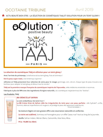 TAAJ Paris french cosmetic product