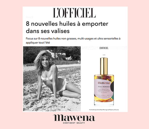Mawena French Cosmetic natural
