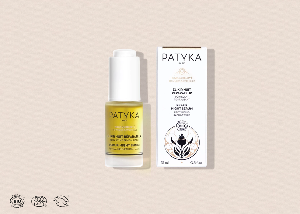 Repair Night Serum - Exceptional Organic Anti Aging - PATYKA Paris
