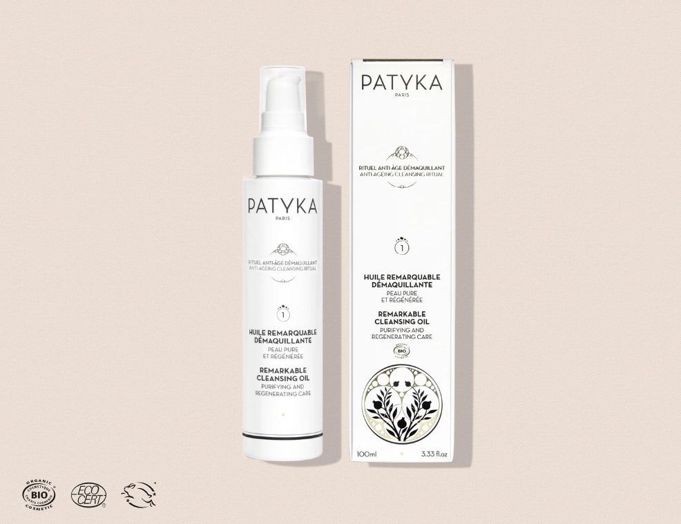 Remarkable Cleansing Oil - Makeup Remover - PATYKA Paris