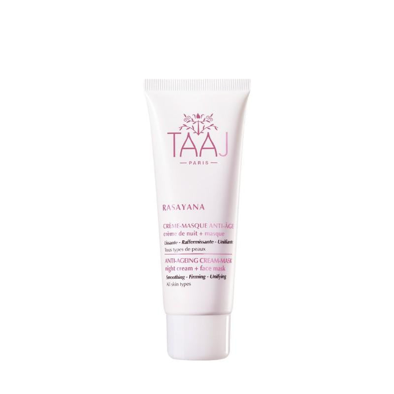 TAAJ Paris - Ayurveda Anti-Aging Cream Mask - Natural Hyaluronic Acid