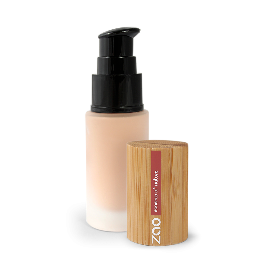 Organic Silk Foundation (Liquid) - Ma French Beauty