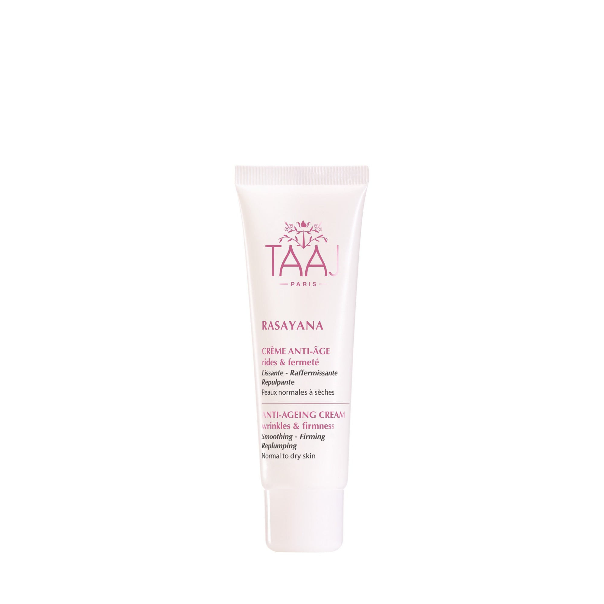 TAAJ Paris - Ayurveda Anti Aging Cream - Firming & Anti wrinkles